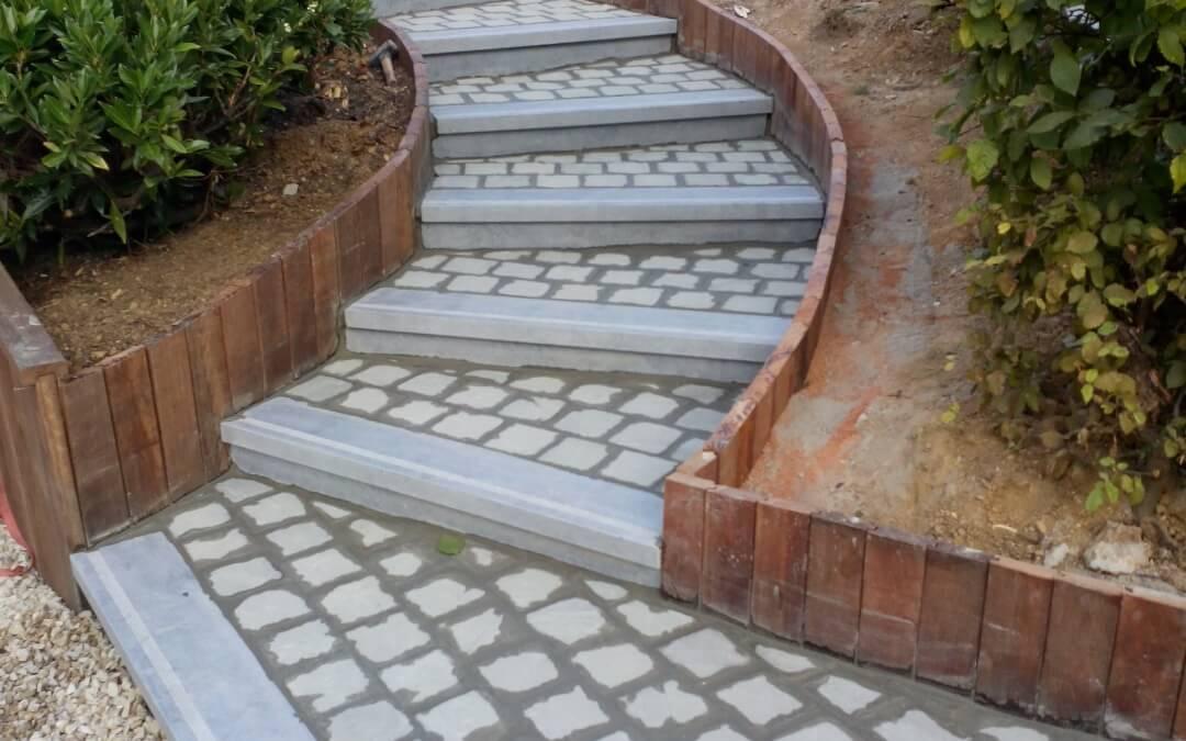 Projets archive page 4 sur 5 jardinier laurent for Escalier en terre