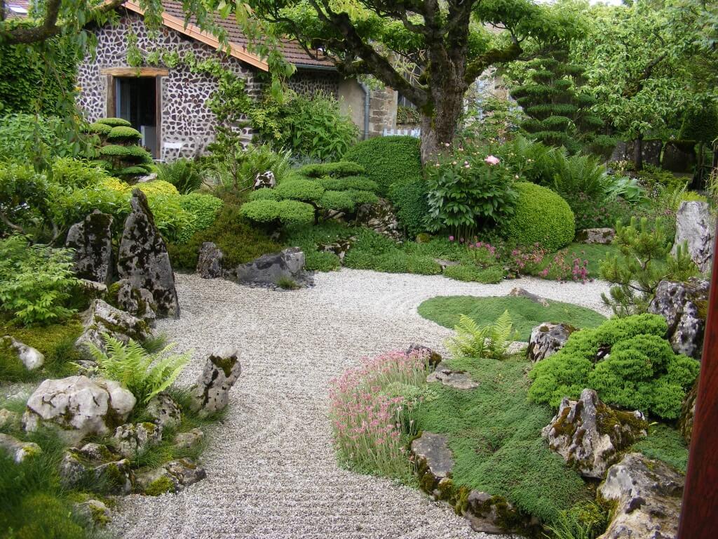 Photo Jardin Zen Chez Particulier jardin zen - jardinier laurent entreprise de jardin